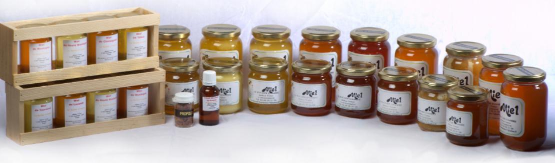 Notre assortiment de miels